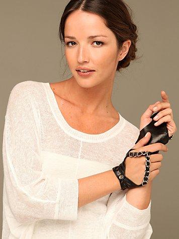 Leather Chain Glove