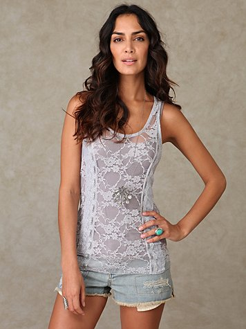 Lacey Corset Cami