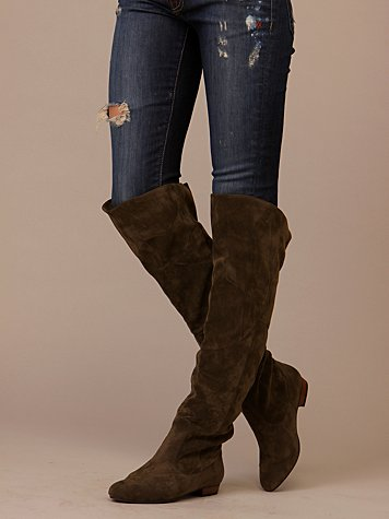 Joy Ride Over The Knee Boot