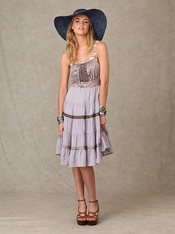 Tangier Tiers Dress
