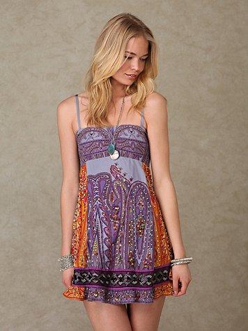 Embellished Tube Dress