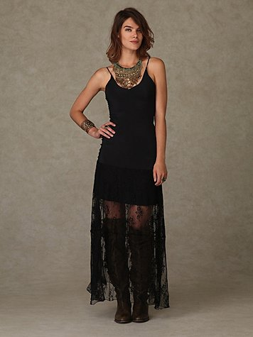 Daughters of the Revolution Lace Maxi Dress