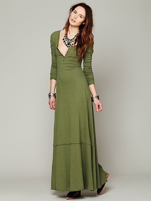 Miles of Henley Dress