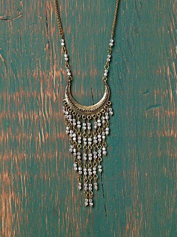 Egyptian Fringe Necklace