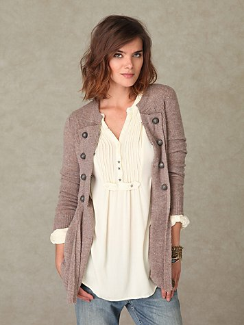 Military Moments Cardigan