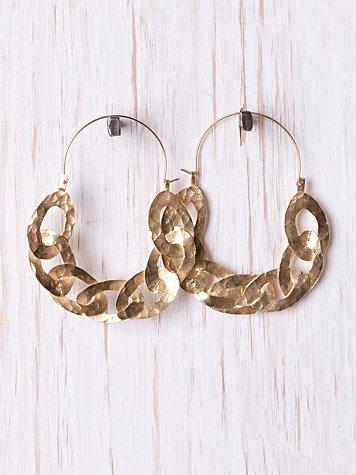 Royal Link Earring