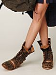 Dusty Lace Up Boot