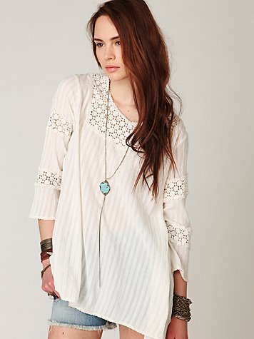 FP-1 Daydreams Gauze Tunic