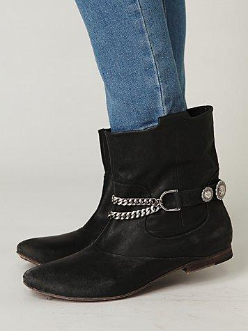 Western Concho Rider Boot Chain