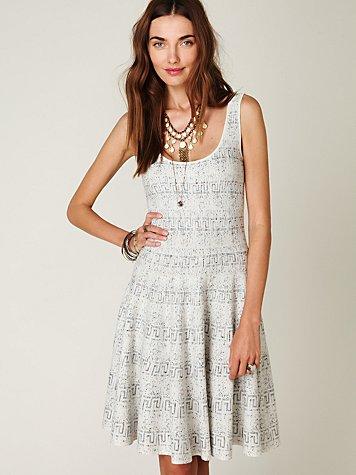 FP Spun Speckled Scuba Dress
