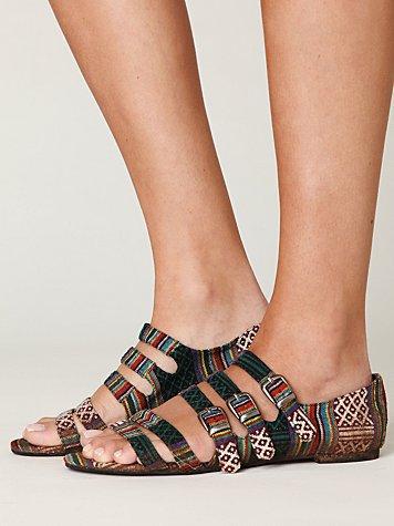 Cayman Fabric Sandal