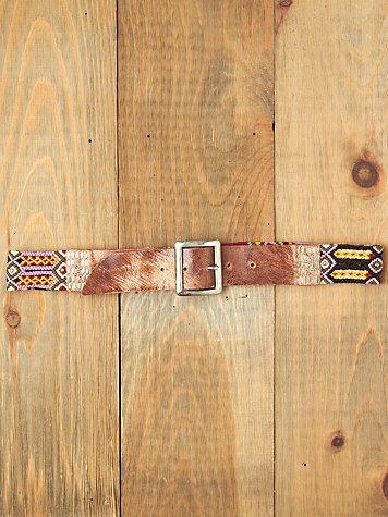 Papi Embellished Belt