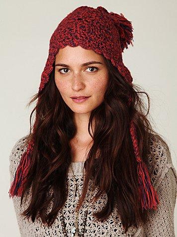 Arjeta Circle Crochet Hat