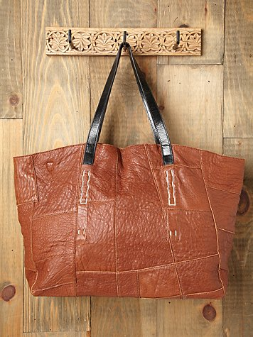Lexi Patched Tote