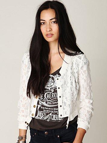 Woven Lace Jacket