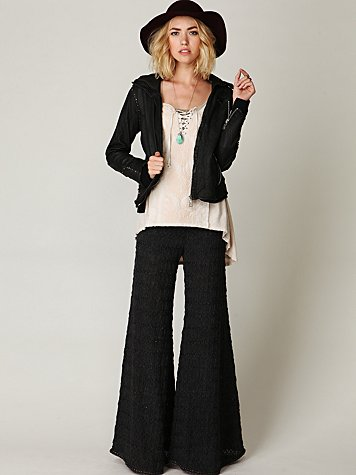 FP Textured Knit Extreme Flare
