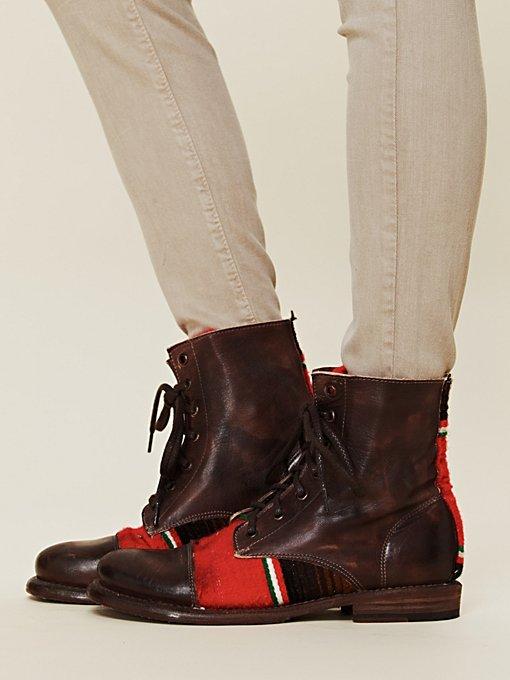 Hacienda Lace Up Boot