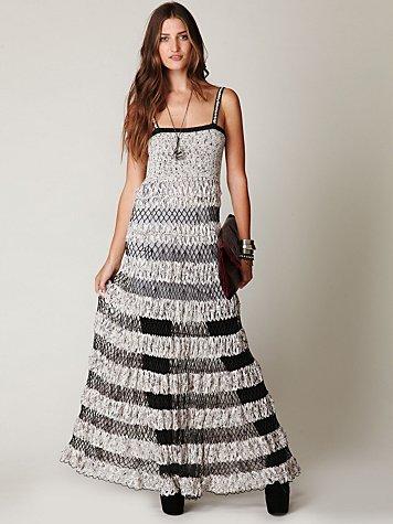 FP Spun Lattice Dress