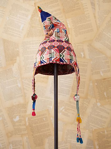 Vintage Bolivian Woven Hat