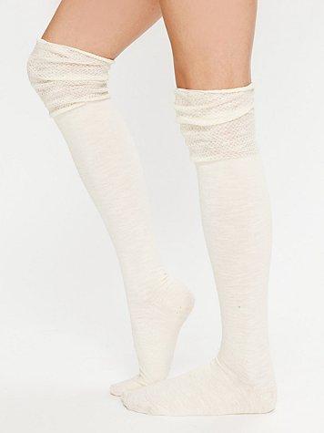 Slouched Burnout Sock