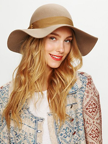 Jane Wide Brim Hat