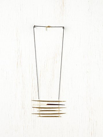 Ladder Quill Necklace