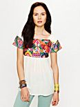 Aztec Embroidery Tunic