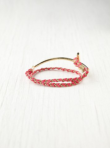 Atlantic Neon Rope Bracelet