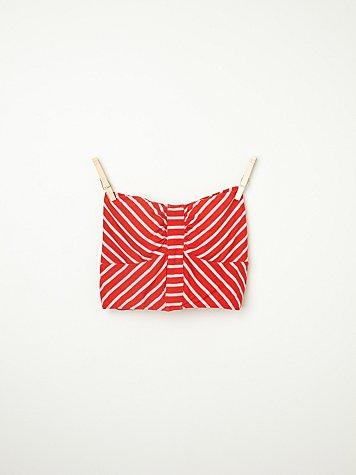Engineered Stripe Bandeau