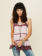 Viscose Voile Tiered Babydoll Cami