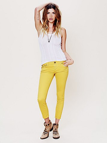 Colored Ankle Crop