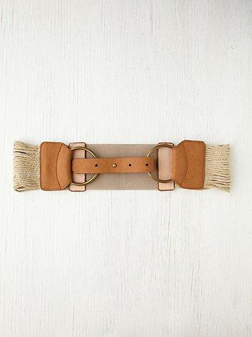 Washed Away Waist Belt