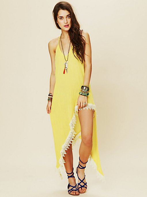 Hi Rise Halter Dress