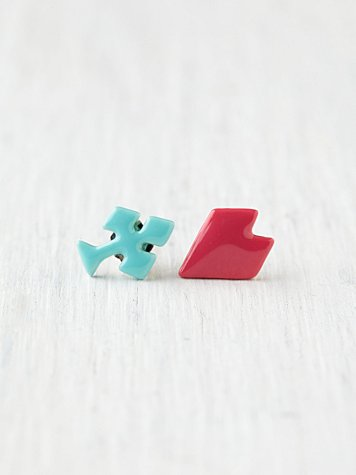 Playing Cards Motif Studs