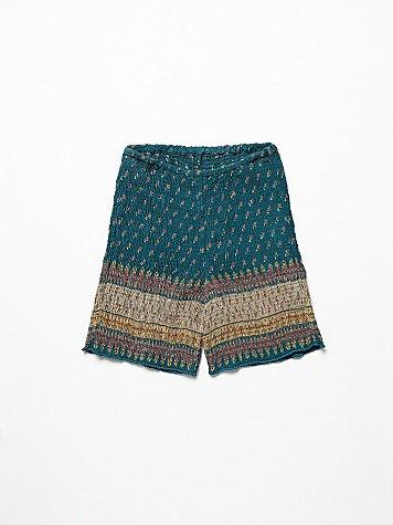 FP ONE Smocked Bike Shorts