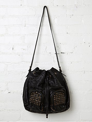 Brooke Drawstring Satchel