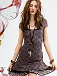 Daisy Godet Slip Dress