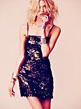 Starry Eyed Sequins Dress