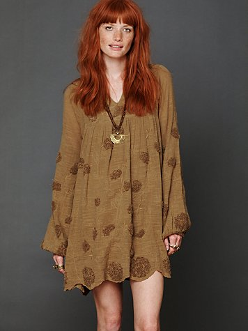 Claire Textured Dress