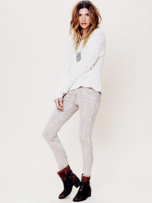 Rosey Printed Skinny Jean