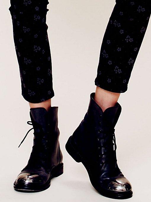 Jane Cap Toe Boot