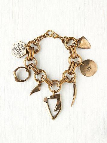 Super Hero Charm Bracelet