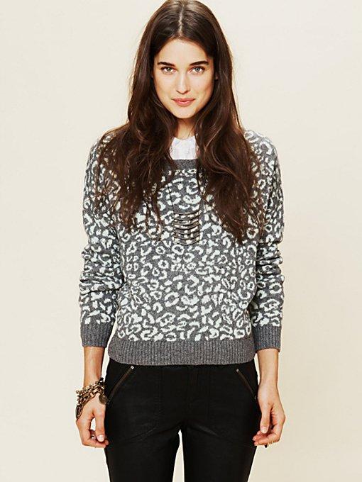 Cool Cat Leopard Pullover