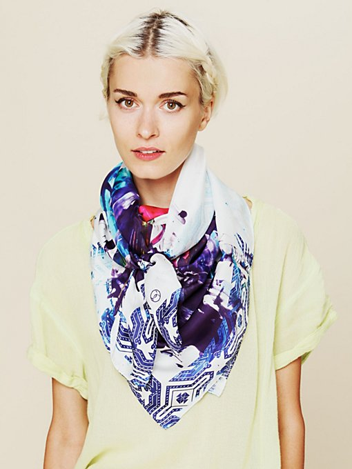 Abstract Painting Scarf