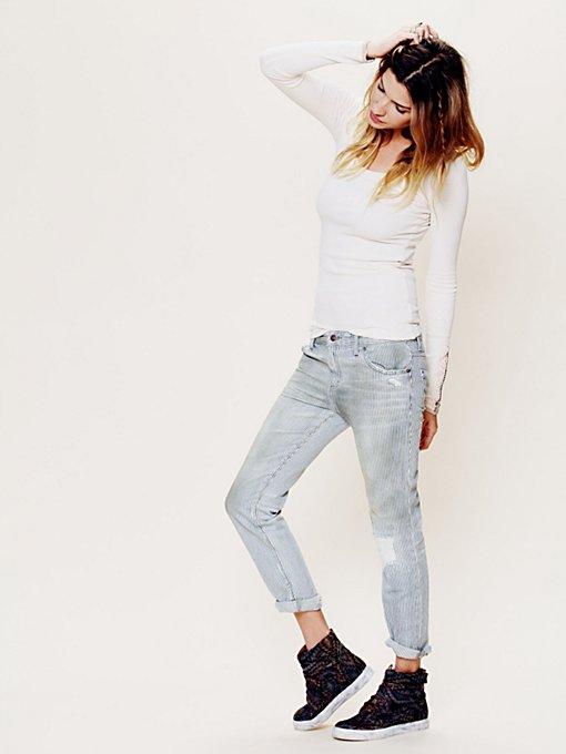 5 Pocket Slim Slouch Jeans
