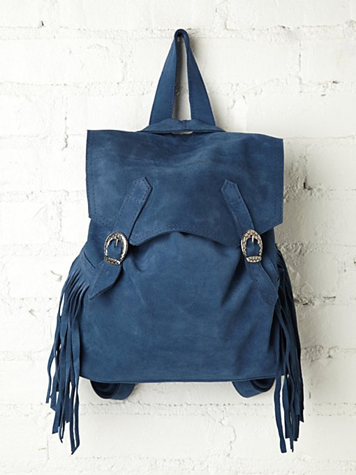 Johannesburg Fringe Backpack