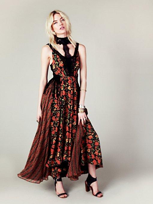 FP New Romantics Black Magic Dress