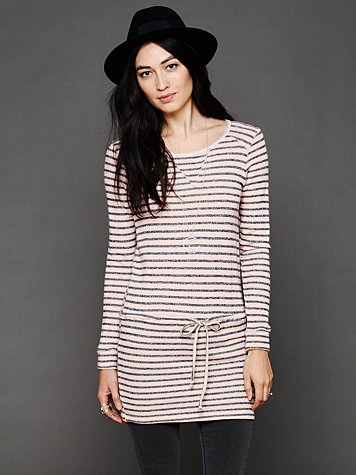 Dutch Stripe Terry Dress