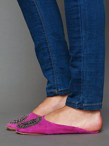 Moroccan Beaded Slipper