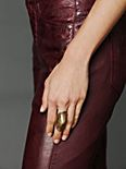 Brass Armour Ring